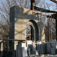 Выставочная арка для Олимпиады в Сочи